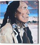 Hehaka Sapa Black Elk Acrylic Print