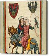 Heidelberg Lieder Acrylic Print