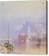 Heidelberg Acrylic Print by Thomas Miles Richardson