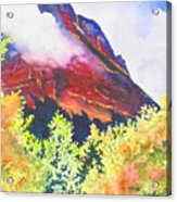Heights of Glacier Park Acrylic Print