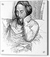 Heinrich Heine, German Writer Acrylic Print