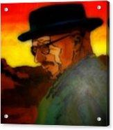 Heisenberg Crystallized Acrylic Print