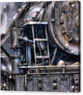 Heisler Steam Engine Acrylic Print