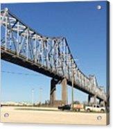 Helena Arkansas Bridge 2 Acrylic Print