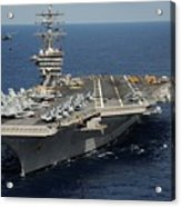 Helicopter's Approaches The Flight Deck Acrylic Print