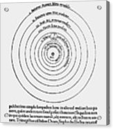 Heliocentric Universe, Copernicus, 1543 Acrylic Print by Science Source