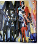 Helion: Paris Riots, 1968 Acrylic Print