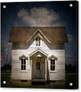 Helis Farm Cottage Acrylic Print