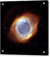 Helix Nebula, Hst Image Acrylic Print by Nasaesastscit.rector, Nrao