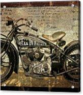 Hell On Wheels Acrylic Print