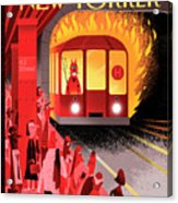 Hell Train Acrylic Print