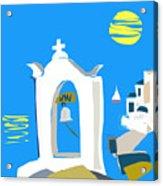 Hellenic Holiday Acrylic Print