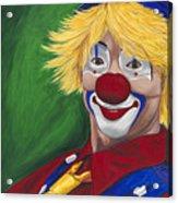 Hello Clown Acrylic Print