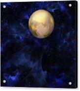 Hello Pluto Acrylic Print