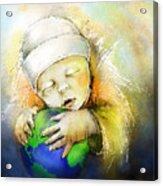 Hello World Acrylic Print