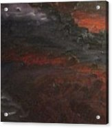 Hell's Fury Acrylic Print
