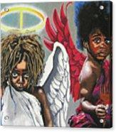 Hells Little Angels Acrylic Print