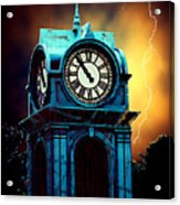 Hells Timeclock Acrylic Print
