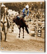 Helluva Rodeo-the Ride 5 Acrylic Print