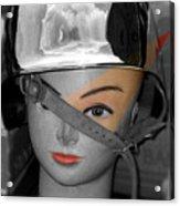 Helmet Acrylic Print