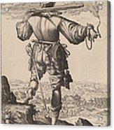 Helmeted Musketeer Acrylic Print