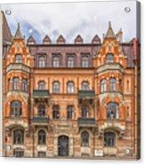 Helsingborg Building Facade Acrylic Print