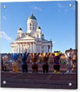Helsinki Cathedral Acrylic Print