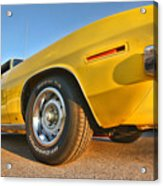 Hemi 'cuda - Ready For Take Off Acrylic Print