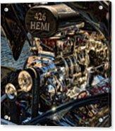 Hemi Engine Acrylic Print