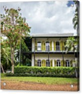 Hemingway House, Key West, Florida Acrylic Print