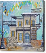 Hemingway Houses Acrylic Print