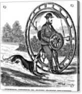Hemmings Unicycle, 1869 Acrylic Print by Granger