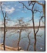 Hempstead Harbor Through The Trees Acrylic Print
