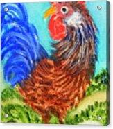 Hen With Egg Acrylic Print