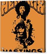 Hendrix 1967 Acrylic Print