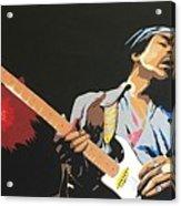 Hendrix 4 Acrylic Print