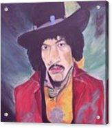 Hendrix Acrylic Print