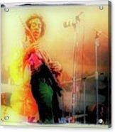 Hendrix Live Acrylic Print
