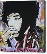 Hendrix Thoughts Acrylic Print
