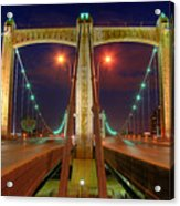 Hennepin Avenue Bridge Minneapolis Acrylic Print