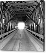 Henniker Covered Bridge Acrylic Print