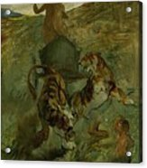 Henri From Toulouse-lautrec 1864 - 1901 Allegory, The Life Spring Acrylic Print
