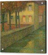 Henri Le Sidaner 1862 - 1939 Home Channel Acrylic Print