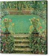Henri Le Sidaner 1862 - 1939 Market Garden, Gerberoy Acrylic Print