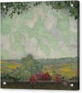 Henri Le Sidaner 1862 - 1939 View From The Terrace Acrylic Print