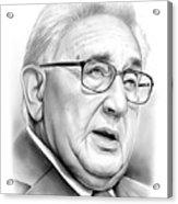 Henry Kissinger Acrylic Print