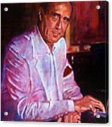 Henry Mancini Acrylic Print by David Lloyd Glover