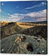 Henry Mountain Wsa Acrylic Print by Leland D Howard