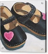 Her Little Shoes Acrylic Print