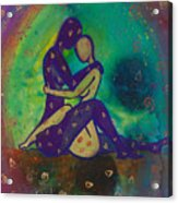 Her Loves Embrace Divine Love Series No. 1006 Acrylic Print